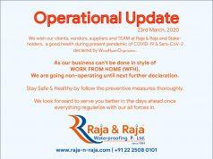 Operational Update 23-03-2020